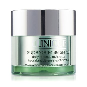 Clinique Superdefense Daily Defense Moisturizer SPF 20 (Combination Oily to Oily)  50ml/1.7oz
