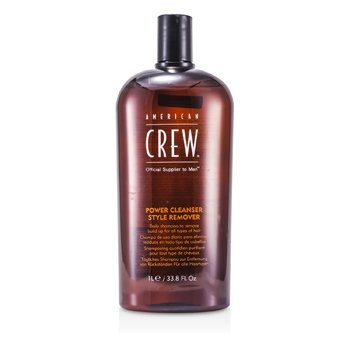 American Crew Shampoo Men Power Cleanser Style Remover Daily (Todos Tipos de Cabelos)  1000ml/33.8oz