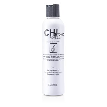 CHI CHI44 Ionic Power Plus N-1 Priming Champú (Para Cabello Más Lleno, Grueso)  248ml/8.4oz