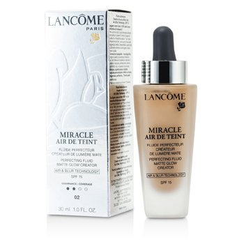 Lancome Miracle Air De Teint Fluido Perfeccionante SPF 15 - # 02 Lys Rose  30ml/1oz