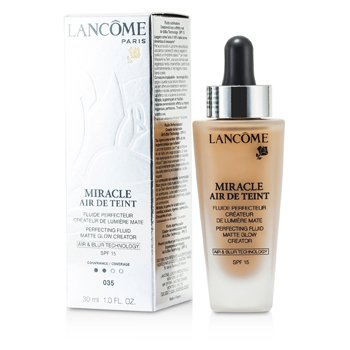Lancome Miracle Air De Teint Perfecting Fluid SPF 15 - # 035 Beige Dore  30ml/1oz