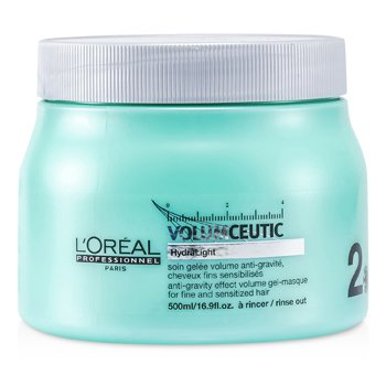 L'Oreal Professionnel Expert Serie - Volumceutic Anti-Gravity Effect Volume Gel-Masque (For Fine and Sensitized Hair)  500ml/16.9oz