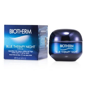 Biotherm Blue Therapy Night Cream (For All Skin Types)  50ml/1.69oz