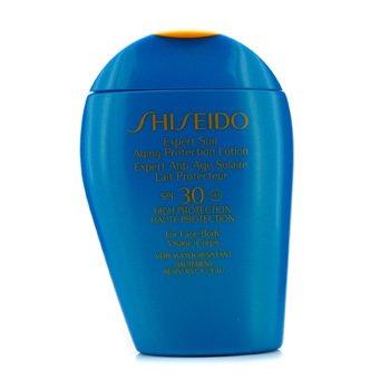 Shiseido Expert Sun ასაკის დამცავი ლოსიონი სახისა და ტანისთვის SPF 30  100ml/3.4oz