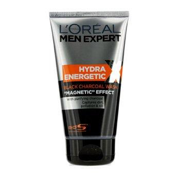 L'Oreal L'Oreal Men Expert Hydra Energetic Jabón de Carbón Negro  150ml/5oz