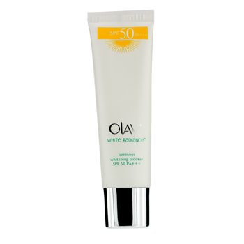 Olay White Radiance Luminous Bloqueador Blanqueador SPF 50  40ml/1.33oz
