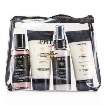 "Philip B ""Escape"" Travel Kit  4pcs"