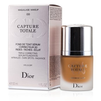 Christian Dior Capture Totale Triple Correcting Serum Foundation SPF25 - # 030 Medium Beige  30ml/1oz