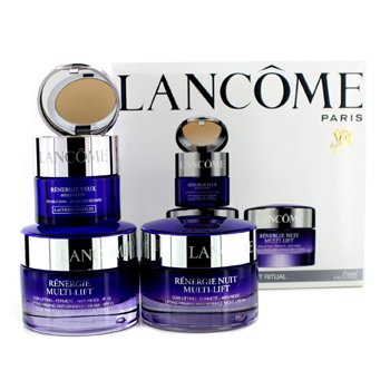 Lancome Renergie Multi-Lift Ritual Travel Set: Firming Cream SPF 15 50ml + Night Cream 50ml + Eye Duo 15ml  3pcs