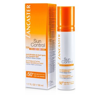 לנקסטר Sun Control Face Radiant Glow Cream SPF 50+  50ml/1.7oz