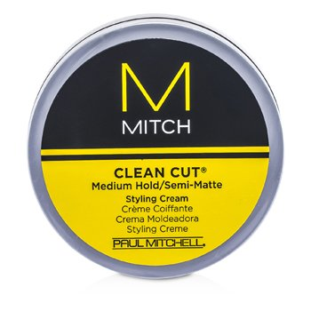 Paul Mitchell Mitch Clean Cut Crema de Peinar Agarre Medio/Semi Mate  85g/3oz