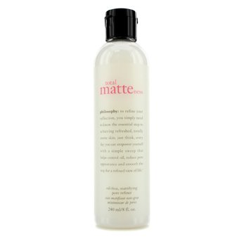 פילוסופי Total Matteness Oil-Free, Mattifying Pore Refiner  240ml/8oz