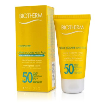 Biotherm Creme Solaire SPF 50 UVA/UVB Melting Face Cream  50ml/1.69oz