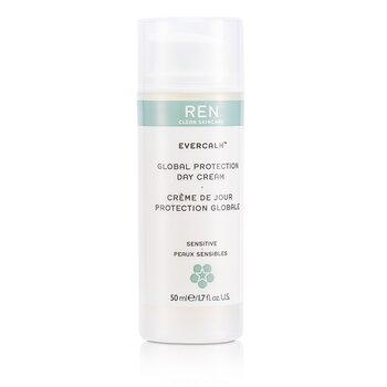 Ren Evercalm Global Protection Day Cream (For Sensitive/ Delicate Skin)  50ml/1.7oz