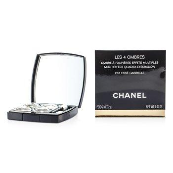 ชาแนล อายแชโดว์ Les 4 Ombres Quadra - เบอร์ 208 Tisse Garbrielle  2g/0.07oz