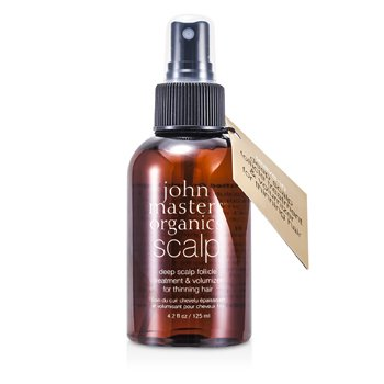 John Masters Organics Deep Scalp Follicle Treatment & Volumizer (For Thinning Hair)  125ml/4.2oz