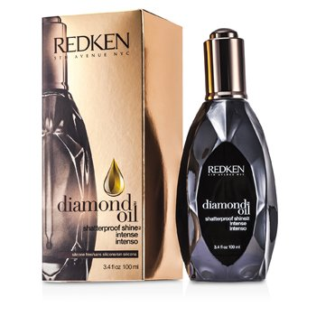 Redken Diamond Oil Brillo Irrompible Intenso (Para Cabello Opaco, Dañado)  100ml/3.4oz