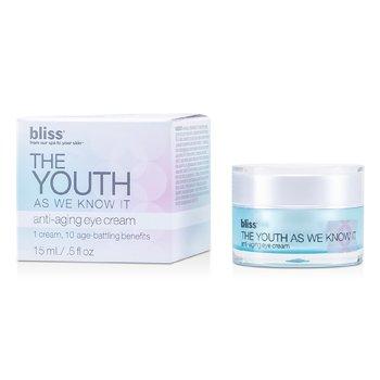 Bliss Creme Anti-Envelhecimento Para Olhos The Youth As We Know It  15ml/0.5oz