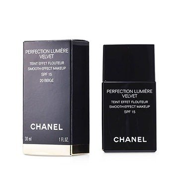 Chanel Podkład z ochronnym filtrem Perfection Lumiere Velvet Smooth Effect Makeup SPF15 - # 20 Beige  30ml/1oz