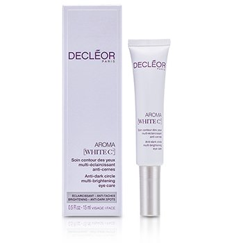 Decleor Aroma White C+ Anti-Dark Circle Multi-Brightening Eye Care  15ml/0.5oz