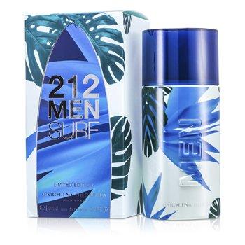 Carolina Herrera 212 Surf Eau De Toilette Spray (Edición Limitada)  100ml/3.4oz