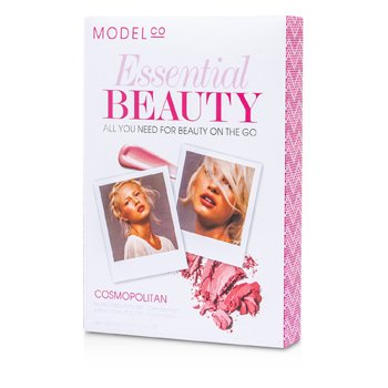 ModelCo Essential Beauty - Cosmopolitan (1x Blush Cheek Powder, 1x Shine Ultra Lip Gloss)  2pcs