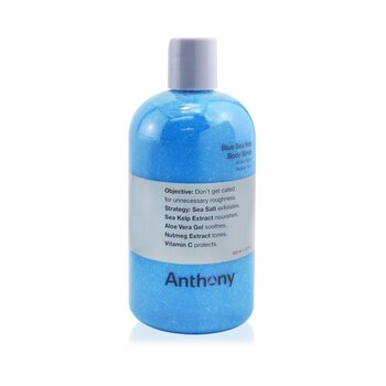 Anthony Logistics For Men Gomaj cu Alge Marine Albastre pentru Corp  355ml/12oz