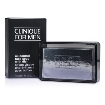 Clinique Oil Control Face Soap with Dish  150g/5.2oz