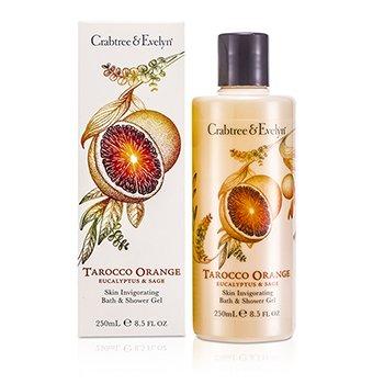 Crabtree & Evelyn Żel pod prysznic i do kąpiel Tarocco Orange, Eucalyptus & Sage Skin Invigorating Bath & Shower Gel  250ml/8.5oz