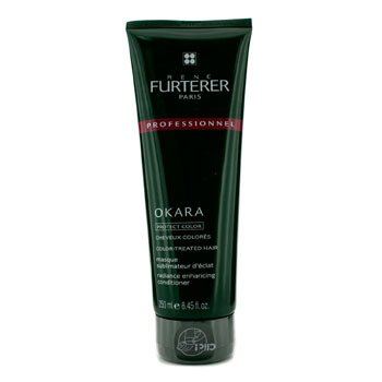 Rene Furterer Okara Radiance Enhancing Conditioner - For Color-Treated Hair (Salon Product)  250ml/8.45oz