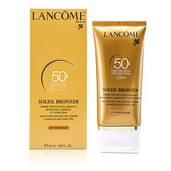Lancome Soleil Bronzer Smoothing Protective Cream (Solkrem BB) SPF50  50ml/1.69oz