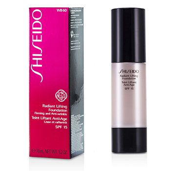 Shiseido Radiant Lifting Foundation SPF15 - # WB60 Natural Deep Warm Beige  30ml/1.2oz