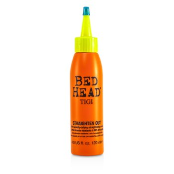 Tigi Bed Head Straighten Out 98% Humidity-Defying Straightening Cream  120ml/4oz