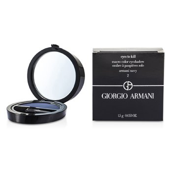 Giorgio Armani Eyes to Kill Solo Eyeshadow - # 02 Armani Navy  1.5g/0.053oz