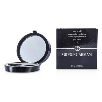 Giorgio Armani Eyes to Kill Solo Eyeshadow - # 08 Gun Metal  1.75g/0.061oz