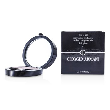Giorgio Armani Eyes to Kill Solo Eyeshadow - # 16 Dark Plum  1.75g/0.061oz