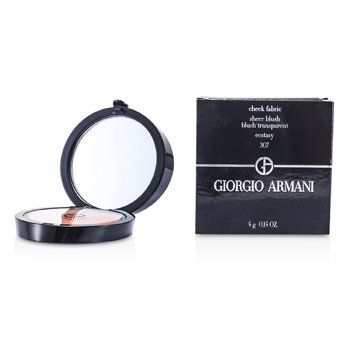 Giorgio Armani Cheek Fabric Sheer Blush - # 307 Ecstasy  4g/0.14oz
