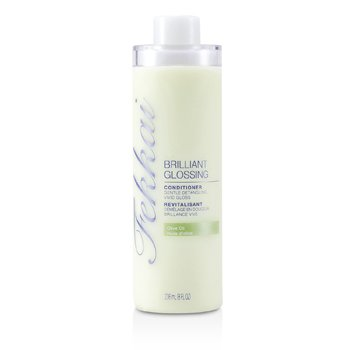Frederic Fekkai Brilliant Glossing Conditioner (Gentle Detangling, Vivid Gloss)  236ml/8oz