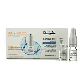L'Oreal Professionnel Expert Serie - Aminexil Advanced Double Actioin Anti-Thinning Hair Programme  10x6ml/0.21oz