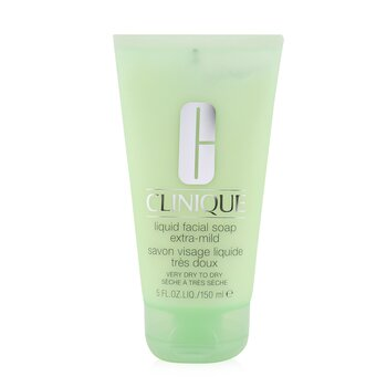 Clinique Liquid Facial Soap Tube Extra-Mild (Very Dry to Dry)  150ml/5oz