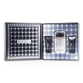Givenchy Play Coffret: Eau De Toilette Spray 100ml/3.3oz + Gel de Ducha 50ml/1.7oz + Gel Para Después de Afeitar 50ml/1.7oz  3pcs