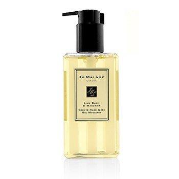 ג'ו מלון שטיפת גוף וידיים ריחן ליים ומנדרינה (עם משאבה)  250ml/8.5oz