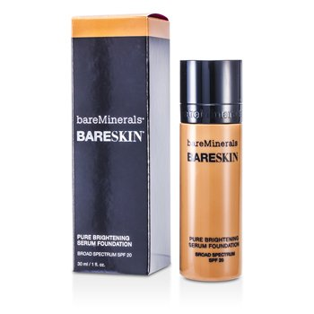 BareMinerals Rozjasňující make-up a sérum BareSkin Pure Brightening Serum Foundation SPF 20 - # 11 Bare Latte  30ml/1oz