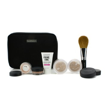 BareMinerals Kit BareMinerals Get Started Complexion For Flawless Skin - # Light  6pcs+1clutch