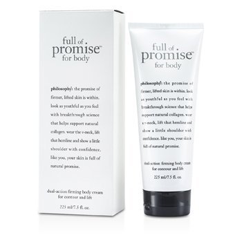 Philosophy Full Of Promoise For Body Crema Corporal Reafirmante Acción Dual  225ml/7.5oz