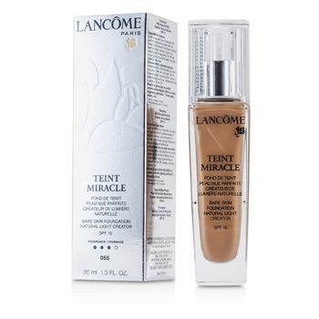 Lancome Teint Miracle Bare Skin Foundation Natural Light Creator SPF 15 - # 55 Beige Ideal  30ml/1oz