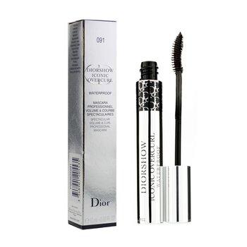 Christian Dior Diorshow Iconic 骂漕耱抽赅 蝮� 潆� 铣潢痼麇眄� 鲁� - # 091 Over Black  10ml/0.33oz
