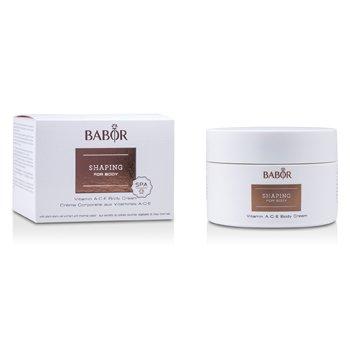 Babor Shaping For Body - Creme Para Corpo Com Vitamins A.C.E.  200ml/6.7oz