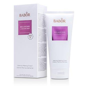 Babor Relaxing Lavender Mint - Calming Peeling Cream  200ml/6.7oz