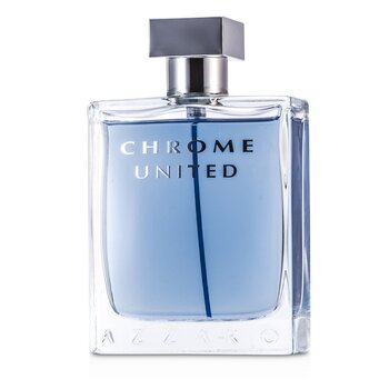 Azzaro Chrome United Eau De Toilette Spray  100ml/3.4oz